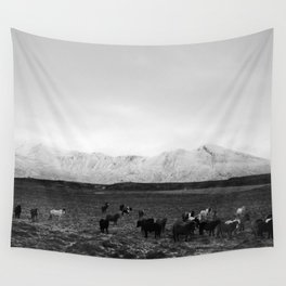 The herd Wall Tapestry