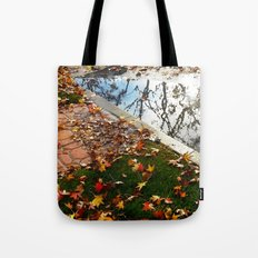 Wet December Morning in California Heights Tote Bag