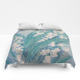 Lily of the valley Comforters