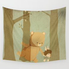 Oso Follow Me Wall Tapestry
