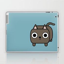 Cat Loaf - Brown Kitty Laptop & iPad Skin