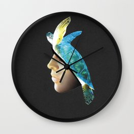 Dive in me Wall Clock