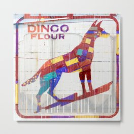 Dingo Flour Metal Print