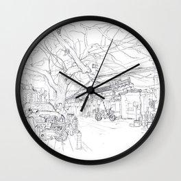 Beijing.China.Xilou Hutng Wall Clock