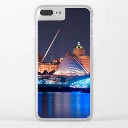 Milwaukee Art Museum Clear iPhone Case