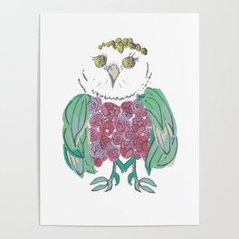a little flOWLer Poster