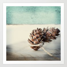 winter moods Art Print