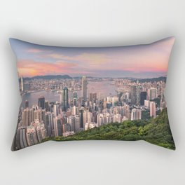 HONG KONG 15 Rectangular Pillow