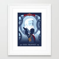 bioshock Framed Art Prints featuring Bioshock Infinite by Spiritius