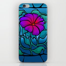 Stained Glass Flower iPhone Skin