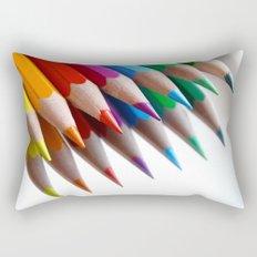 Colored Pencils Rectangular Pillow
