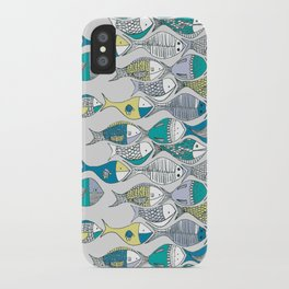 go fishing then! iPhone Case