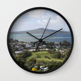 Rangitoto Island Auckland Wall Clock