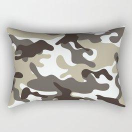 Urban Camo Camouflage Pattern Rectangular Pillow