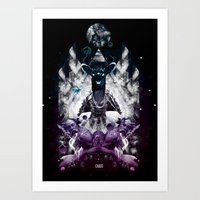 chaos Art Prints featuring Chaos by CAP 388
