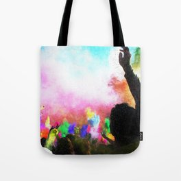 Holi Colors Tote Bag
