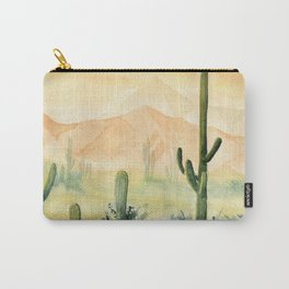 Desert Sunset Landscape Carry-All Pouch