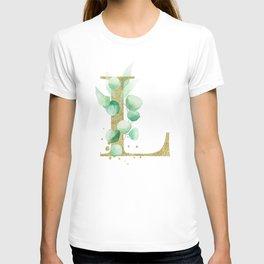 Letter L Monogram T-shirt