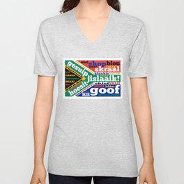 South African slang and colloquialisms Unisex V-Neck