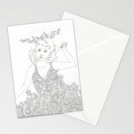 murderer Stationery Cards