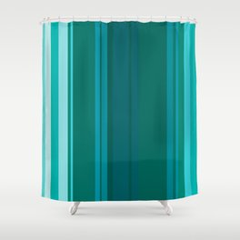 Stripes in colour 13 Shower Curtain