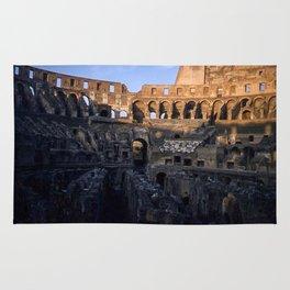 Vintage Color Photo * Roman Colosseum * Coliseum * Rome * Italy *Italian Rug