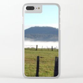 Morning Fog Clear iPhone Case