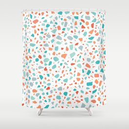 Terrazzo AFE_T2019_S2_3 Shower Curtain