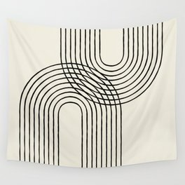 Arch duo 2 Mid century modern Wall Tapestry