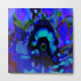 Psychedelic  abstract 1 Metal Print