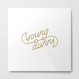 Young Dunns Metal Print