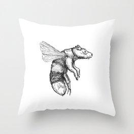 Bumblebear Throw Pillow