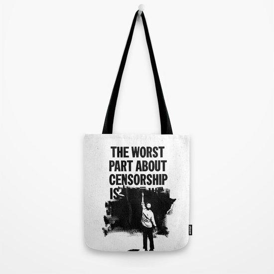 Blackout Tote Bag