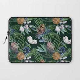 Dark green winter bouquet Laptop Sleeve