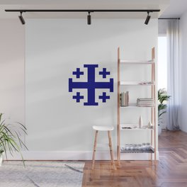 Jerusalem Cross 11 Wall Mural