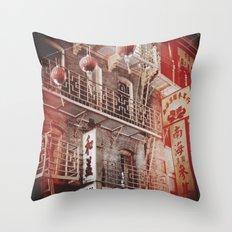 Chinatown, SF Throw Pillow