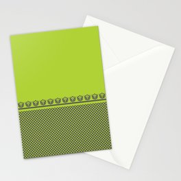 Chartreuse Spring Stationery Cards