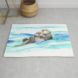 Otterly Loved Rug