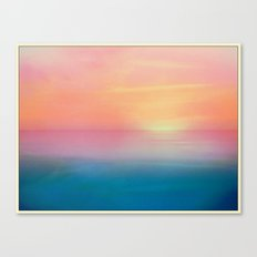 Ombre Sunset Canvas Print