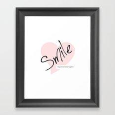Smile! - Registered Dental Hygienist Framed Art Print