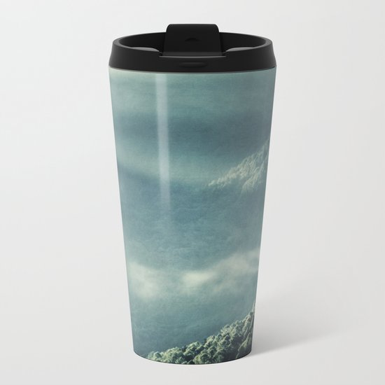 Misty Valley - Lombardia - Italy Metal Travel Mug