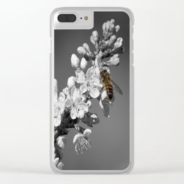 One Honey Bee Clear iPhone Case