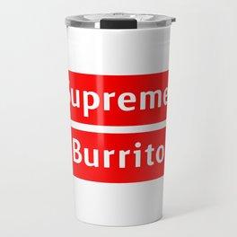 Supreme Burrito Travel Mug