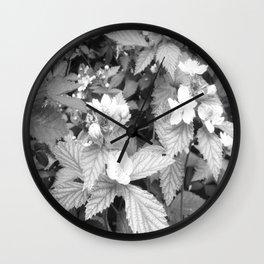 Grandfather's blackberry bush Wall Clock