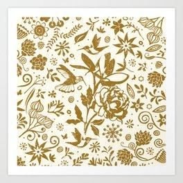 Oh, beautiful garden of mine Art Print