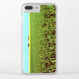 High Plains Crop Clear iPhone Case