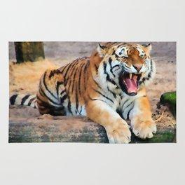Roaring Tiger Rug