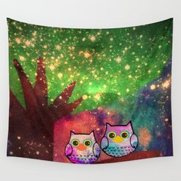 owl-143 Wall Tapestry