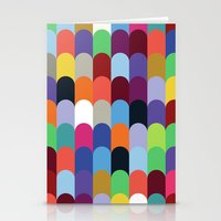 onward Stationery Cards featuring Onward Series: Soirée by Designer Ham
