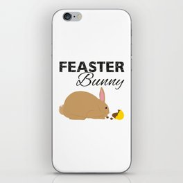 Feaster Bunny iPhone Skin